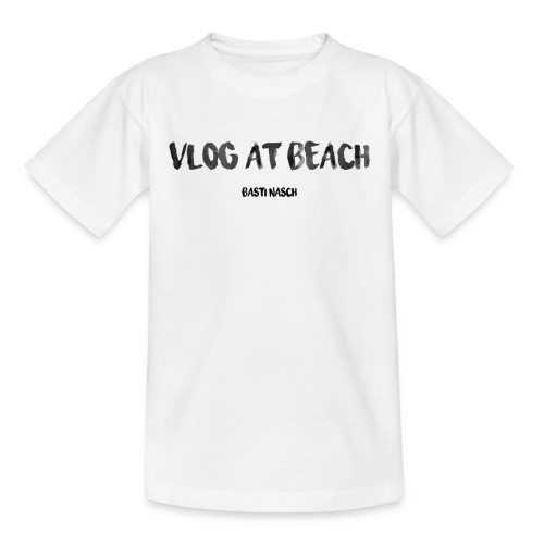 vlog at beach - Kinder T-Shirt