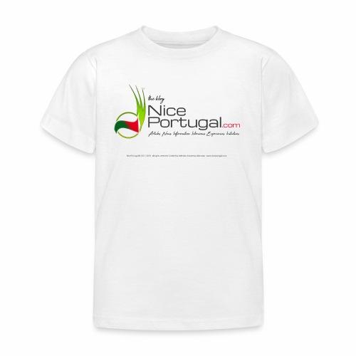NicePortugal.com Logo - Maglietta per bambini
