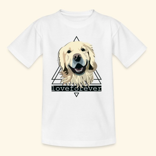 RETRIEVER LOVE FOREVER - Camiseta niño