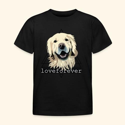 RETRIEVER LOVE FOREVER - Camiseta niño