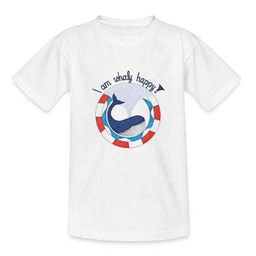 I am whaly happy! - Kinder T-Shirt
