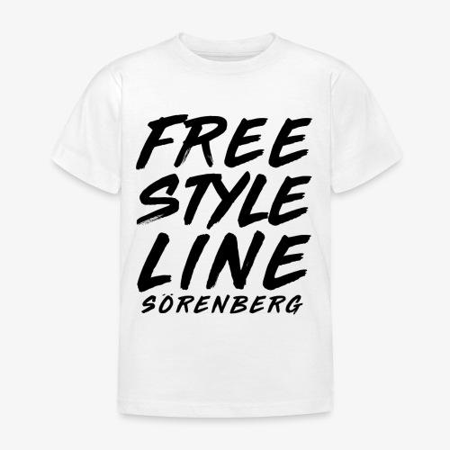 FS-Line brush black - Kinder T-Shirt