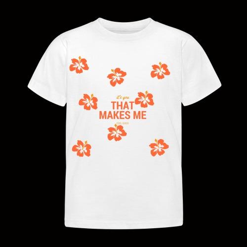 FLOWER SHIRT - Kinder T-Shirt