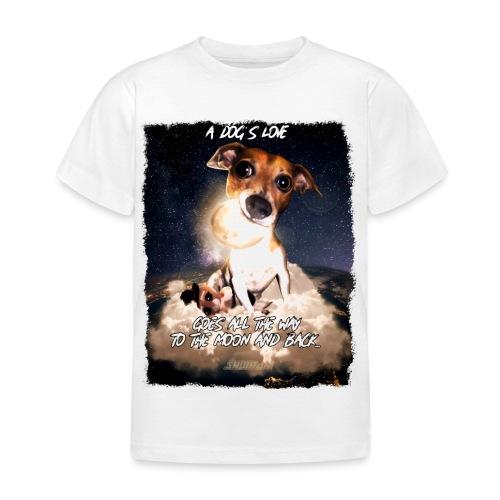 A dog's love - Kinderen T-shirt