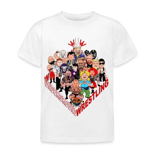comics-wrestler - Kinder T-Shirt