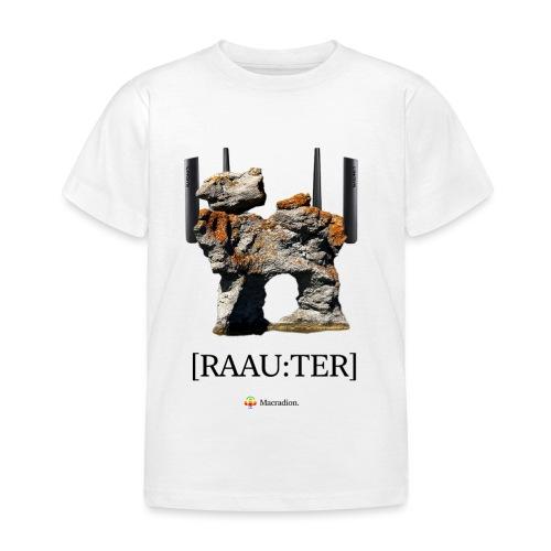 RAAU:TER - T-shirt barn