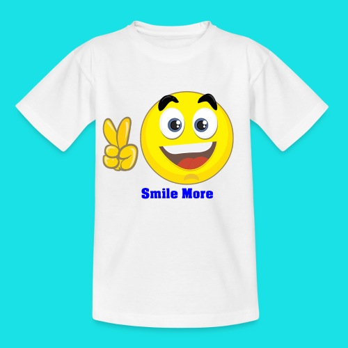smile more - Kinderen T-shirt