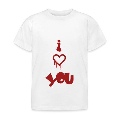 Peluche i love you - Kids' T-Shirt