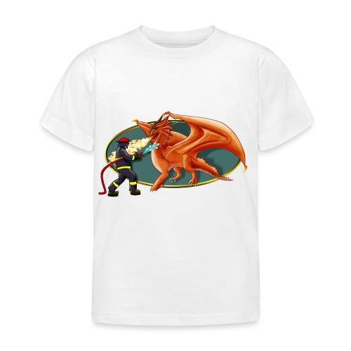 drachenfeuerwehr - Kinder T-Shirt