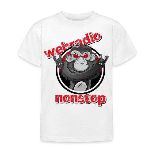 webradio nonstop logo rz png - Kinder T-Shirt
