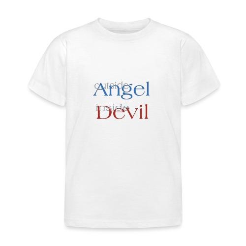 Angelo o Diavolo? - Maglietta per bambini