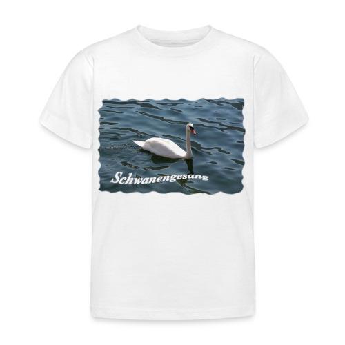 Schwanengesang - Kinder T-Shirt