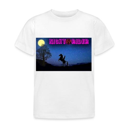 nightrider merch - Børne-T-shirt