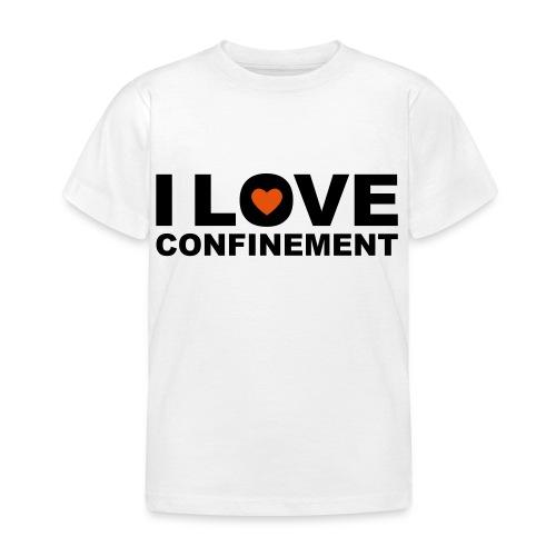 j aime le confinement - T-shirt Enfant