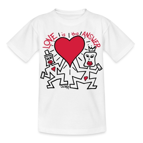 Love is the Answer by Oliver Schibli - Kids' T-Shirt