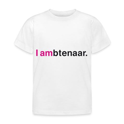 I ambtenaar - Kinderen T-shirt
