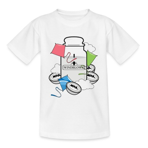 WINDBLOWN png - Kids' T-Shirt