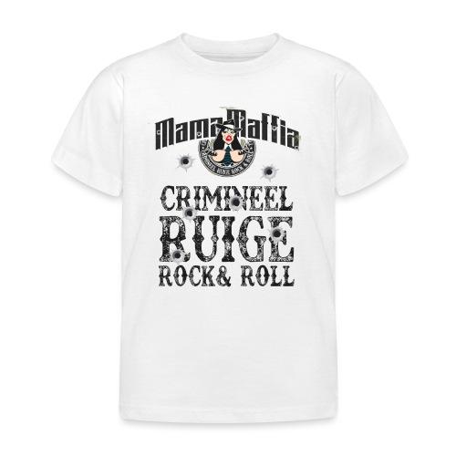 Crimineel Ruige Rock & & Roll Shirt - Kinderen T-shirt