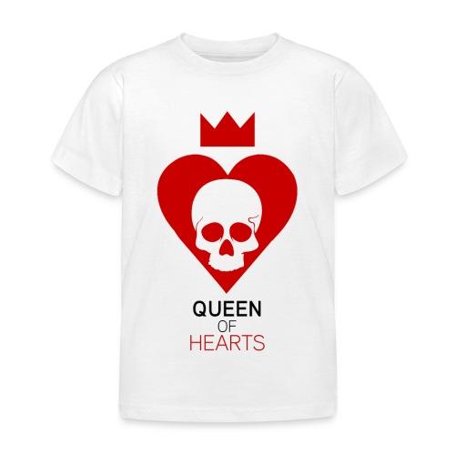 Tee shirt manches longues Reine des Coeurs - T-shirt Enfant