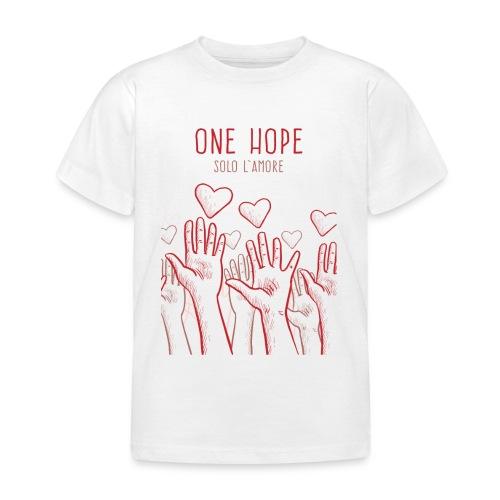solo l'amore - Maglietta per bambini