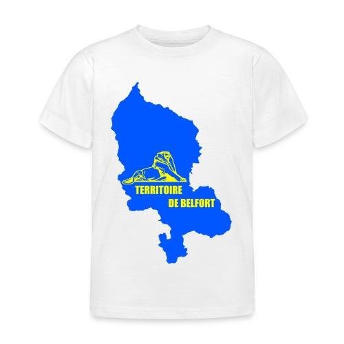 Territoire de Belfort + Lion PNG - T-shirt Enfant
