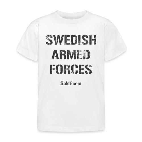 Swedish Armed Forces - T-shirt barn