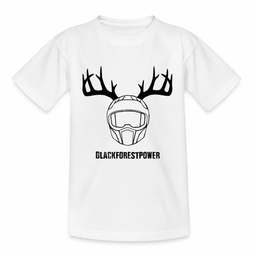 Blackforest Helm - schwarz - Kinder T-Shirt