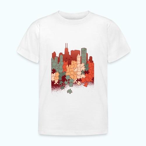 Puzzle fan - Kids' T-Shirt