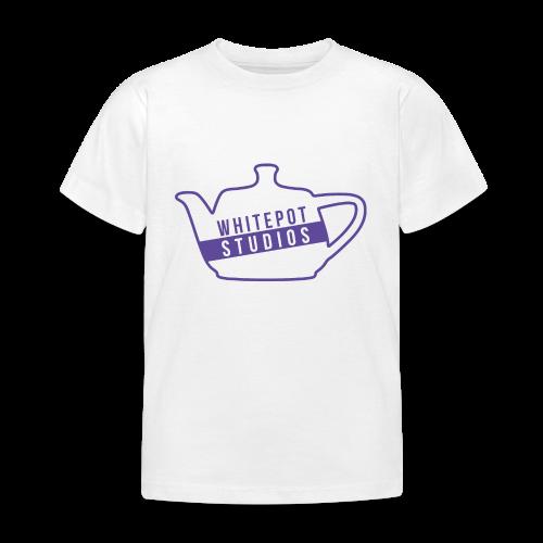 Whitepot Studios Logo - Kids' T-Shirt
