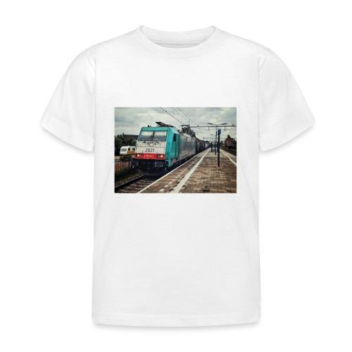 Goederentrein in Gilze-Rijen - Kinderen T-shirt