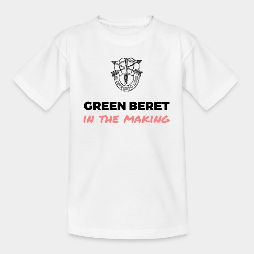 Green Beret in the Making - Kids' T-Shirt