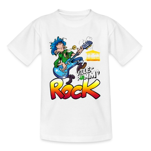 Ville-Pomm'Rock 2017 - T-shirt Enfant