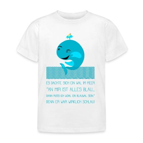 Blauwal - Kinder T-Shirt