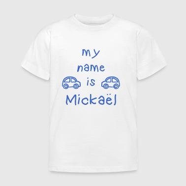 MICKAEL MITT NAMN ÄR - T-shirt barn