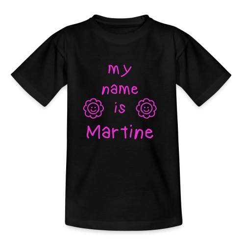 MARTINE MY NAME IS - T-shirt Enfant