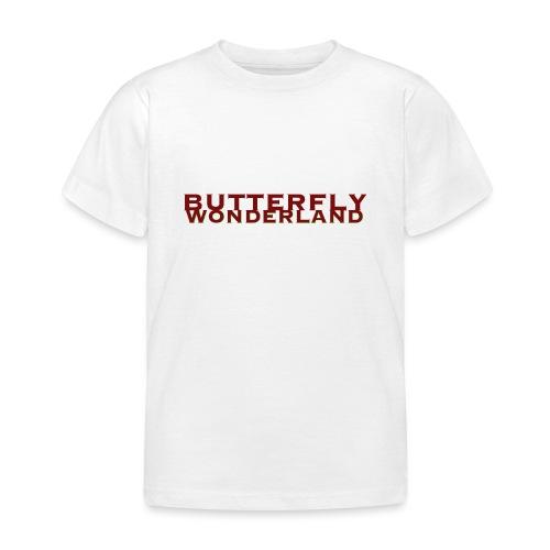 Butterfly Wonderland - Kinder T-Shirt