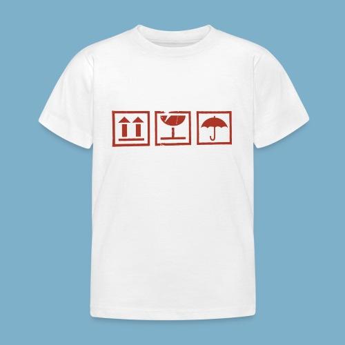 Zerbrechlich - Kinder T-Shirt