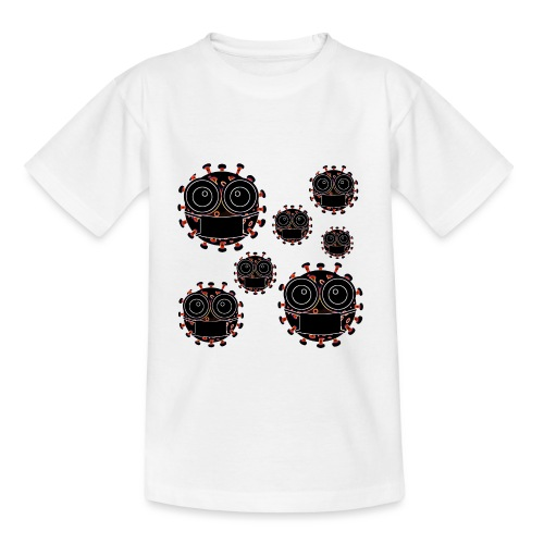 virus eseguire coronavirus covid19 allarme virus - Maglietta per bambini