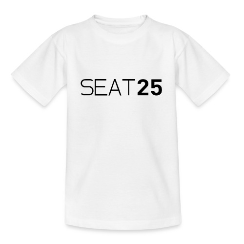 Seat25 Logo Dark - Kids' T-Shirt