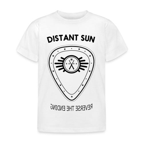 Distant Sun - Mens Slim Fit Black Logo - Kids' T-Shirt