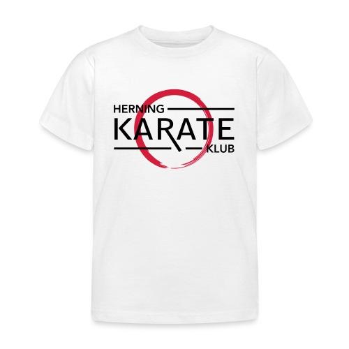 HKK Sort - Børne-T-shirt