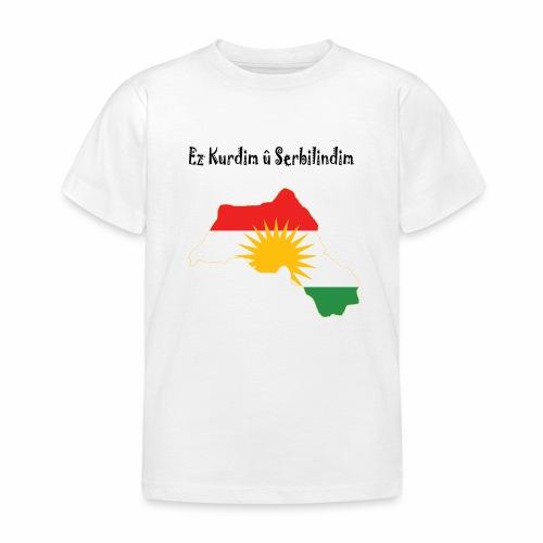 Ez kurdim u serbilindim - T-shirt barn