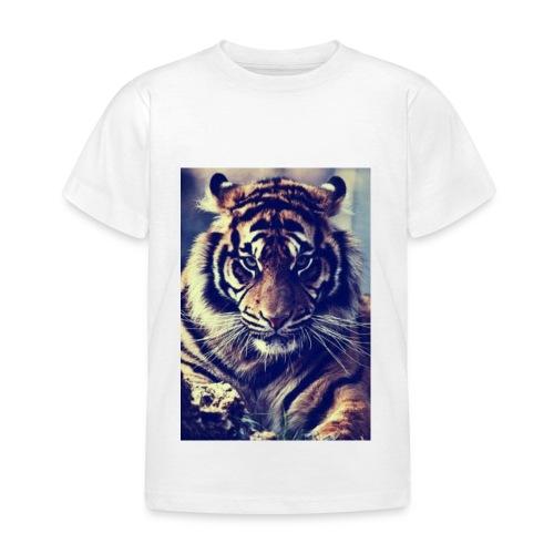 TijgerSerieus jpg - Kinderen T-shirt