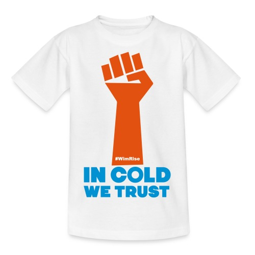 In Cold We Trust - Kids' T-Shirt