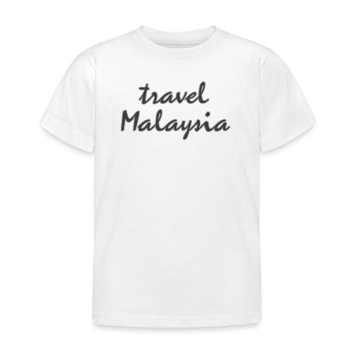 travel Malaysia - Kinder T-Shirt