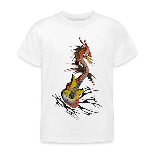 Guitar Dragon - Kinder T-Shirt