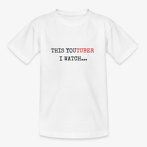 This YouTuber I watch - Kids' T-Shirt