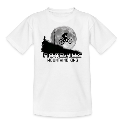 fichtelhills mountainbiking Night ride Ochsenkopf - Kinder T-Shirt