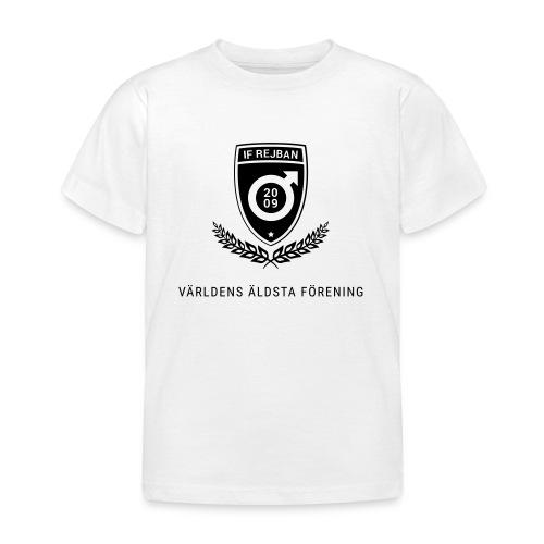 10 år Svart - T-shirt barn
