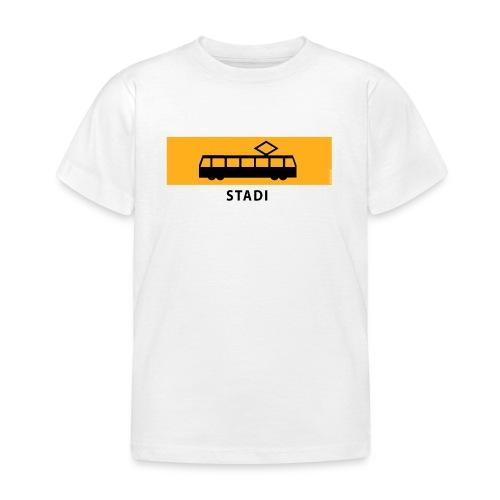RATIKKA PYSÄKKI KYLTTI STADI T-paidat ja vaatteet - Lasten t-paita
